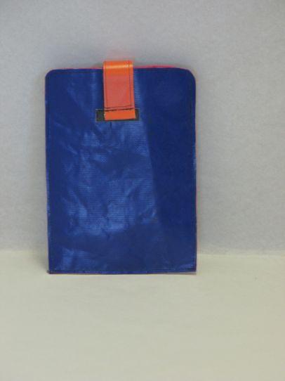 Mini-tablet / E-reader hoesje blauw blauw, oranje
