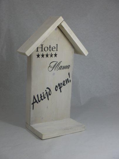 Wanddecoratie 'Hotel Mama'  -