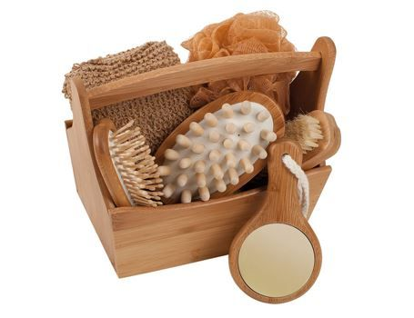 Bamboe geschenk set -