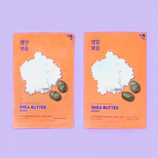 Gezichtsmasker Shea Butter - HOLIKA HOLIKA -
